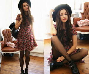 boots, outfit, and cute image