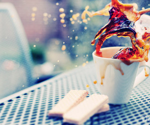 coffee, photography, and cup image