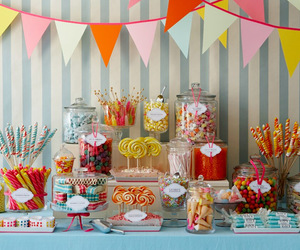 candy, sweet, and party image