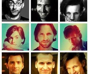 david tennant, matt smith, and ninth doctor image