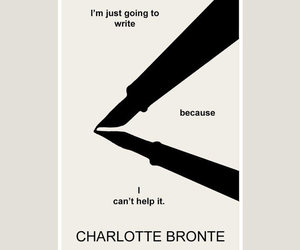 charlotte bronte and quote image