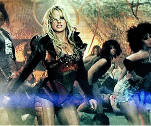 britney spears, femme fatale, and till the world ends image