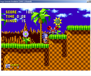 old time, sonic, and vintage image