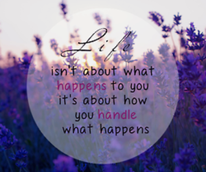 life, quote, and happen image