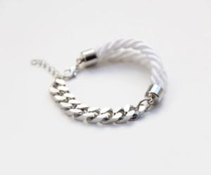 bracelet, fashion, and white image