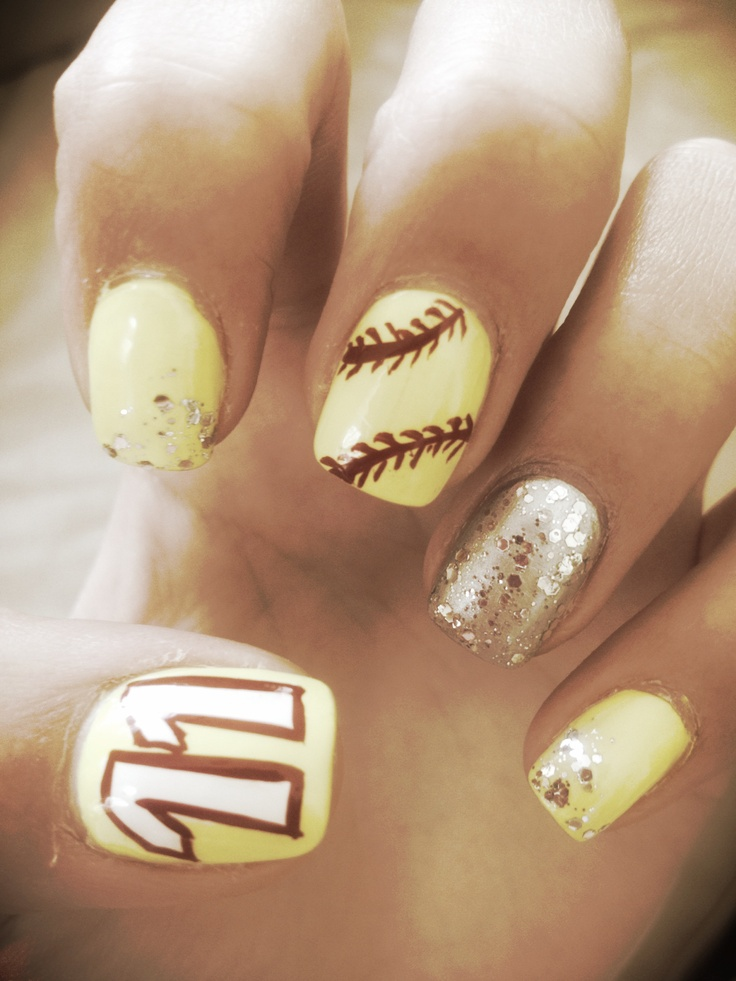 - Softball Nails Shared By Patricia Uribe On We Heart It