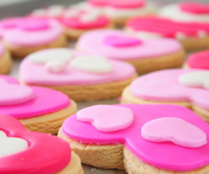 pink and cookie image