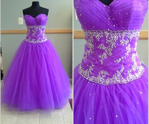 ball gown, dress, and dresses image