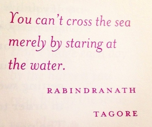 quote, sea, and water image