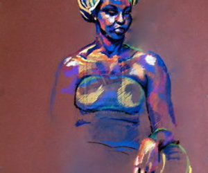 African, artsy, and colourful image