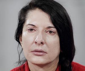 MARINA ABRAMOVIC, MOMA, and red image