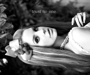 quote, Trust No One, and lana del rey image