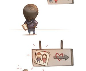 love, love is, and hj story image