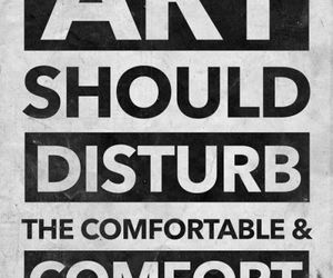 art, quotes, and disturb image