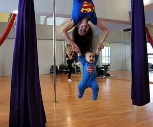 baby and superman image