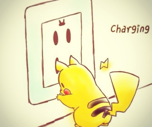charge, pikachu, and yellow image