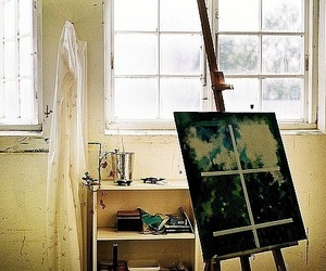 art, painting, and photography image