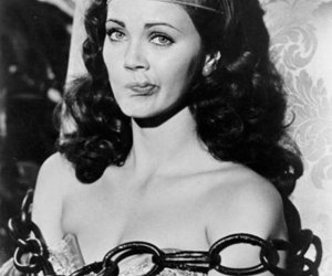 wonder woman, black and white, and vintage image