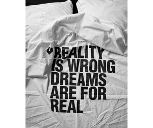 Dream and reality image