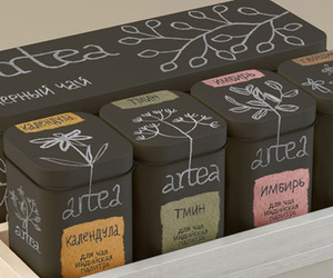 packaging and tea image