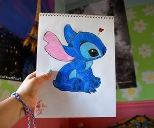 stitch, draw, and drawing image
