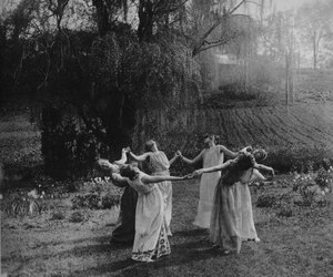 dark, witchcraft, and Witches image