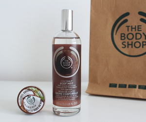 coconut, the body shop, and body shop image