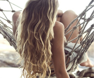 beauty, blond, and curly image