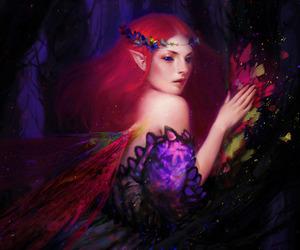 art, elf, and bao pham image