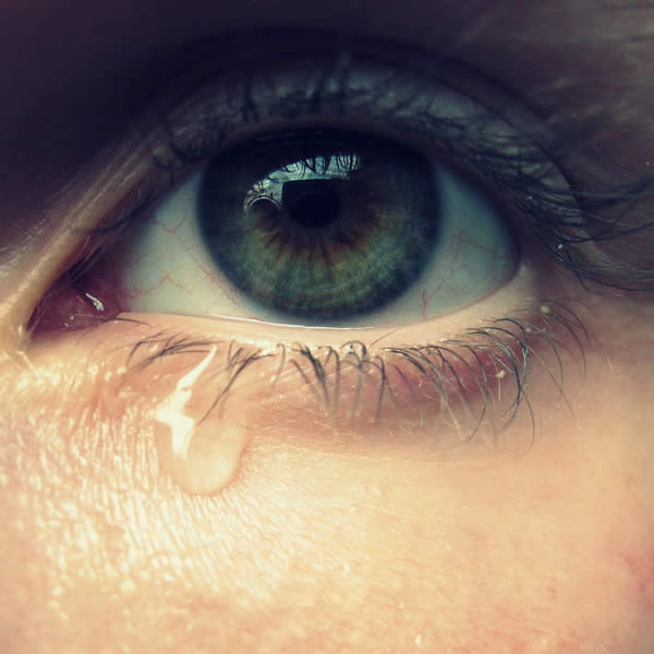 cry, eye, and green image
