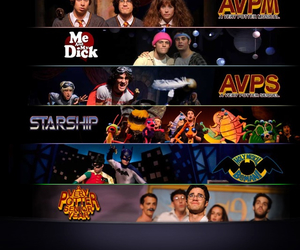 a very potter musical, starship, and starkid image