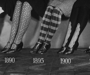stockings, vintage, and shoes image