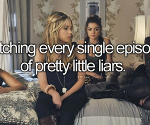 pretty little liars, friends, and pll image