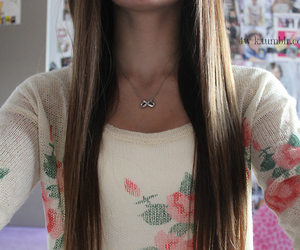 hair, floral, and tumblr image