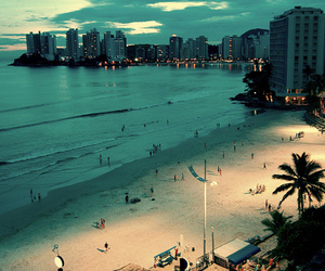 beach, summer, and city image