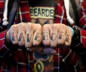 have, tattoo, and hope image