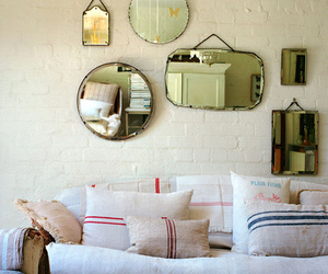 interior and mirror image