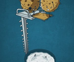 food, funny, and milk image