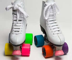 colors, skate, and white image
