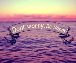 happy, sea, and quote image