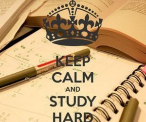 college, school, and keep calm image