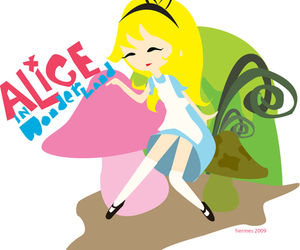 alice, alice in wonderland, and sexykins image