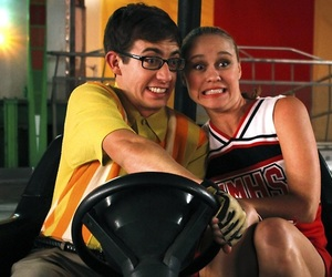 glee, kitty, and kevin mchale image
