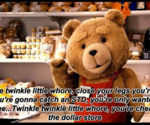 TED, whore, and funny image