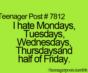 teenager post, school, and hate image