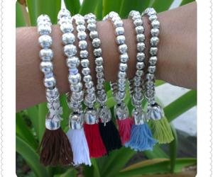 handmade, sorte, and pulseiras image