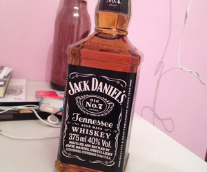 jackdaniel's, drink, and wisky image