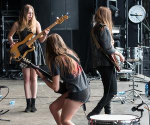 indie, haim, and grunge image
