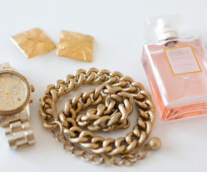chanel, watch, and gold image