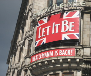 let it be, london, and the beatles image